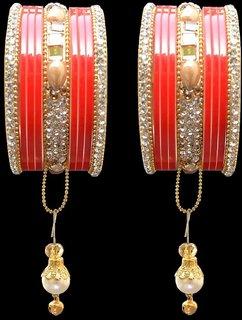 Esclavo Princess-Crown Bridal Chura Set
