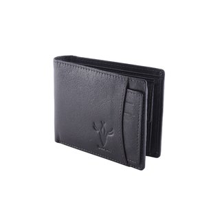 Krosshorn Brown Pure Leather Wallet for Men's