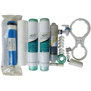 Xisom For All Type Of INLINE FILTER RO SERVICE KIT WITH MINERAL FILTER  USED IN ALL R.O Water Purifier