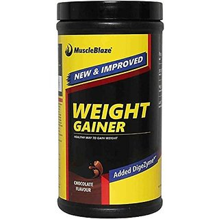 MuscleBlaze Weight Gainer - 500 g (Chocolate)