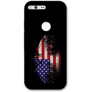 Google pixel Designer Hard-Plastic Phone Cover from Print Opera -UK flag