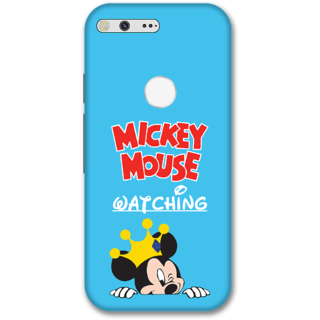 Google pixel Designer Hard-Plastic Phone Cover from Print Opera -Micky mouse