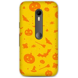 Moto G Turbo Designer Hard-Plastic Phone Cover frI am taken Print Opera -Halloween