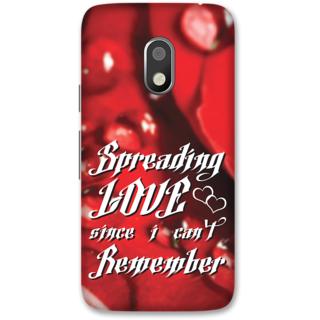Moto G4 Play Designer Hard-Plastic Phone Cover frI am taken Print Opera -Spreading love since i cant remember