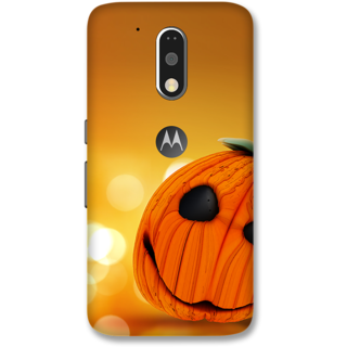 Moto G4 Plus Designer Hard-Plastic Phone Cover frI am taken Print Opera -Happy halloween