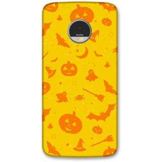 Moto Z Designer Hard-Plastic Phone Cover frI am taken Print Opera -Halloween
