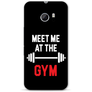 Htc one M10 Designer Hard-Plastic Phone Cover from Print Opera -Meet me at the gym