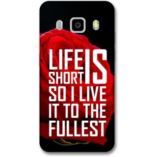 Samsung J5 2016 Designer Hard-Plastic Phone Cover from Print Opera -Creativity