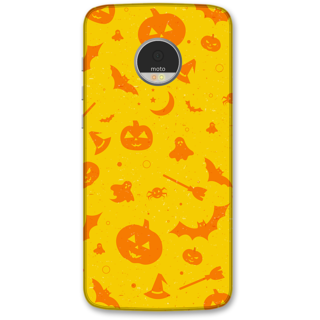 Moto Z Play Designer Hard-Plastic Phone Cover frI am taken Print Opera -Halloween