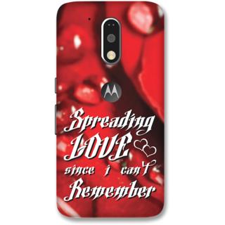 Moto G4 Plus Designer Hard-Plastic Phone Cover frI am taken Print Opera -Spreading love since i cant remember