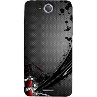 FUSON Designer Back Case Cover For InFocus M530 (Red Bubbles Unique Whimsical Fantasy Fine Art Spots)