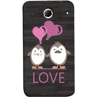 FUSON Designer Back Case Cover For Lenovo K880 (Feeling Loved With Each Other Valentine Day)