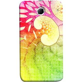 FUSON Designer Back Case Cover For Lenovo K880 (Colourful Art Design River Shape Random Perfect)