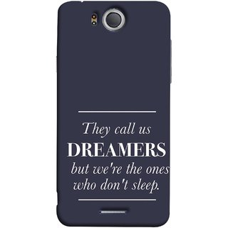 FUSON Designer Back Case Cover For InFocus M530 (But We Are The Ones Who Don'T Sleep Successful )