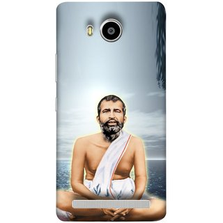 FUSON Designer Back Case Cover For Lenovo A7700 (King Beautiful Frame God His Mission Blesses Eagle)