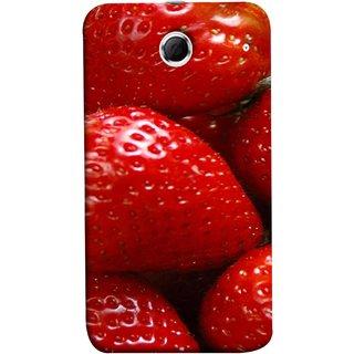FUSON Designer Back Case Cover For Lenovo K880 (Best Fresh Strawberry Ice Cream Homemade Recipes)