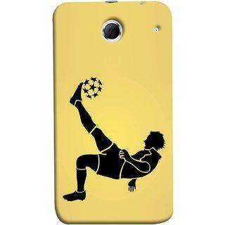 FUSON Designer Back Case Cover For Lenovo K880 (Uefa Champions League Starball Player Fifa )
