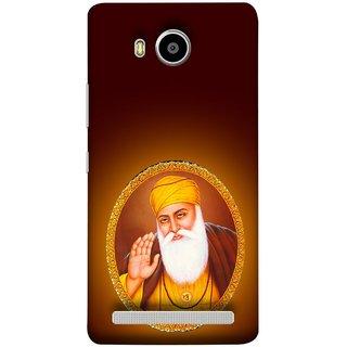 FUSON Designer Back Case Cover For Lenovo A7700 (Guruji Beautiful Frame God His Mission Blesses)