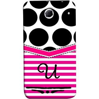 FUSON Designer Back Case Cover For Lenovo K880 (Beautiful Cute Nice Couples Pink Design Paper Girly U)