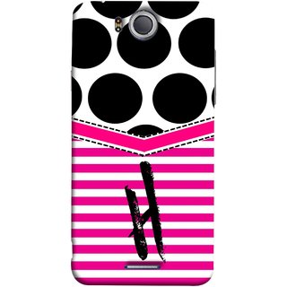 FUSON Designer Back Case Cover For InFocus M530 (Beautiful Cute Nice Couples Pink Design Paper Girly H)