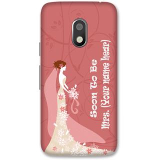 Moto G4 Play Designer Hard-Plastic Phone Cover frI am taken Print Opera -Soon to be