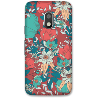 Moto G4 Play Designer Hard-Plastic Phone Cover from Print Opera -Beautiful flowers