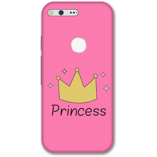 Google pixel Designer Hard-Plastic Phone Cover from Print Opera -Princess