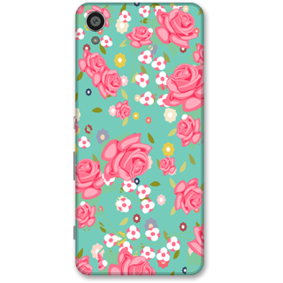 Sony Xperia XA Designer Hard-Plastic Phone Cover from Print Opera -Beautiful flowers