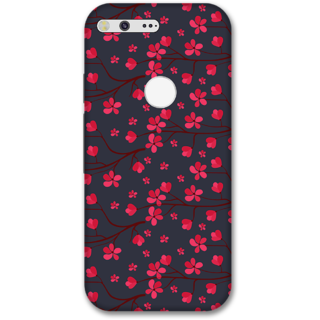 Google pixel xl Designer Hard-Plastic Phone Cover from Print Opera -Pink flowers