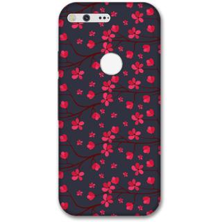 Google pixel xl Designer Hard-Plastic Phone Cover from Print Opera -Pink flowers