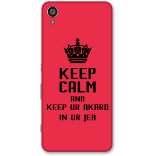 Sony Xperia XA Designer Hard-Plastic Phone Cover from Print Opera -Keep calm