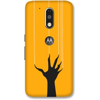 Moto G4 Plus Designer Hard-Plastic Phone Cover frI am taken Print Opera -Ghost