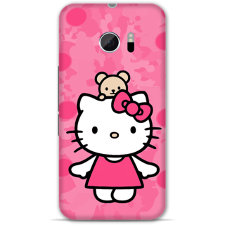 Htc one M10 Designer Hard-Plastic Phone Cover from Print Opera -Hello kitty
