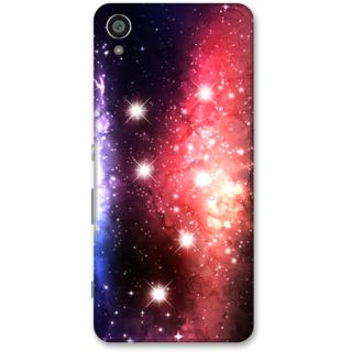 Sony Xperia XA Designer Hard-Plastic Phone Cover from Print Opera -Stars