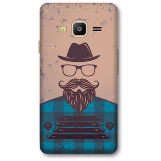 Samsung Z2 2016 Designer Hard-Plastic Phone Cover from Print Opera - Moustache
