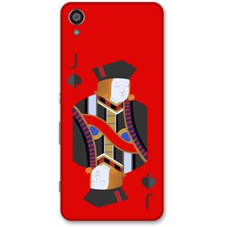 Sony Xperia XA Designer Hard-Plastic Phone Cover from Print Opera -Queen