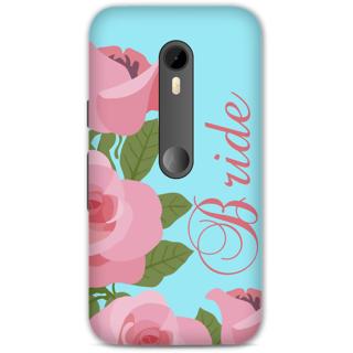 Moto G Turbo Designer Hard-Plastic Phone Cover from Print Opera -Bride