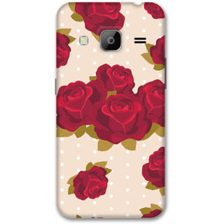 Samsung J3 2016 Designer Hard-Plastic Phone Cover from Print Opera -Red roses