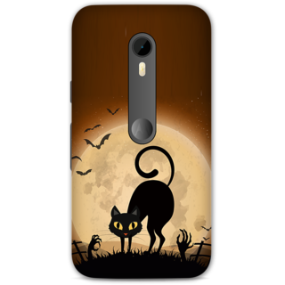 Moto G Turbo Designer Hard-Plastic Phone Cover frI am taken Print Opera -Cat