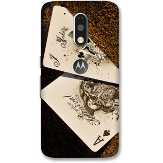 Moto G4 Plus Designer Hard-Plastic Phone Cover from Print Opera -Joker