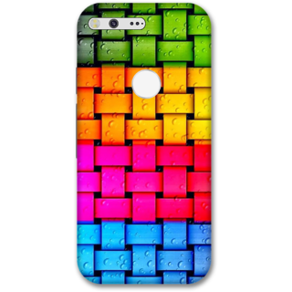 Google pixel xl Designer Hard-Plastic Phone Cover from Print Opera -Colorful web
