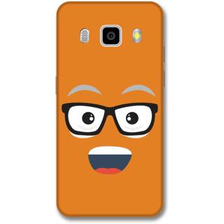 Samsung J5 2016 Designer Hard-Plastic Phone Cover from Print Opera -Nurdy face