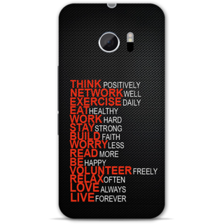 Htc one M10 Designer Hard-Plastic Phone Cover from Print Opera -Always be positive