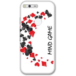 Google pixel Designer Hard-Plastic Phone Cover from Print Opera -Mind game