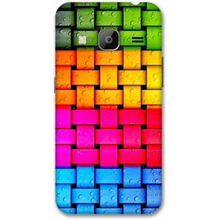 Samsung J3 2016 Designer Hard-Plastic Phone Cover from Print Opera -Colorful web