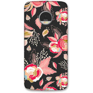 Moto Z Designer Hard-Plastic Phone Cover from Print Opera -Beautiful flowers