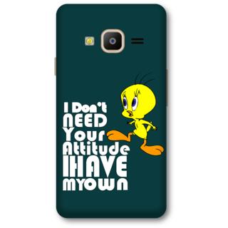 Samsung Z2 2016 Designer Hard-Plastic Phone Cover from Print Opera -bird