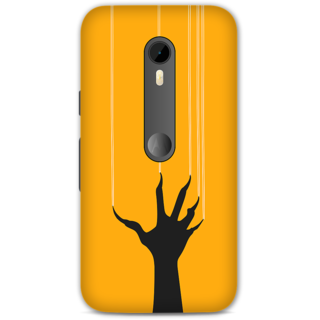 Moto G Turbo Designer Hard-Plastic Phone Cover frI am taken Print Opera -Ghost