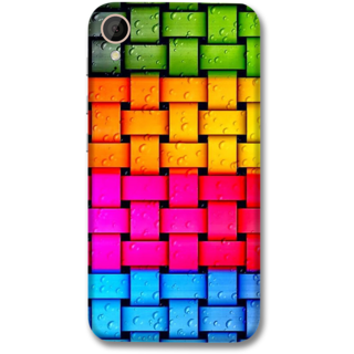 HTC 830 Designer Hard-Plastic Phone Cover from Print Opera -Colorful web