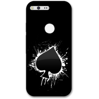 Google pixel xl Designer Hard-Plastic Phone Cover from Print Opera -Spade